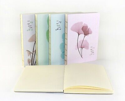 £3.99 • Buy Plain New Hardback Notepad Notebook Notes Diary Journal Travel 13x18cm 240 Pages