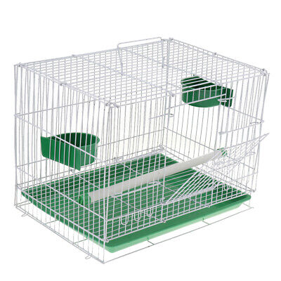 £14.43 • Buy Portable Foldable Metal NEW Finches Canary Island Breeder Breeding Bird Cage