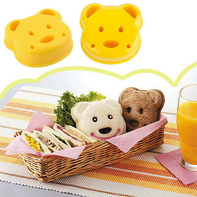 1x Animal Sandwich Mold Cutter Bear Dog Dinosaur Shape Cake Bread Toast Ma W2 • 3.04£