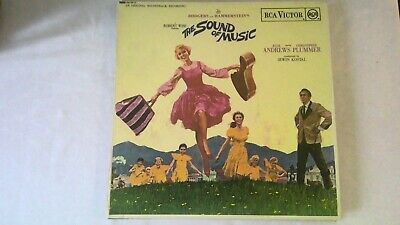 RODGERS And HAMMERSTEIN'S THE SOUND OF MUSIC ORIGINAL SOUNDTRACK 12  VINYL LP • 5.99£