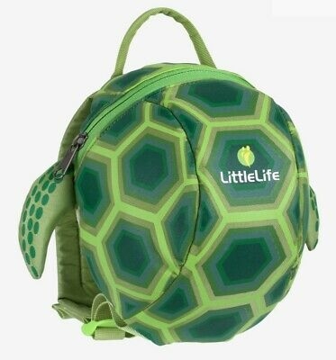 Toddler Backpack With Rein Turtle Unisex Rucksack Boy & Girl School Bag Green • 19.99£