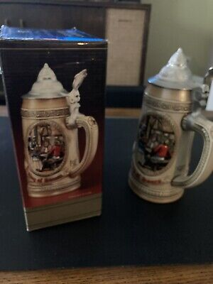 $ CDN21.77 • Buy Anheuser-Bush Lidded Stein ,,L,, Series Limited Edition