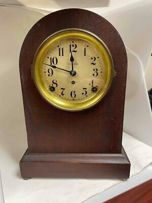 $129.99 • Buy Old Seth Thomas 89AD Mahogany? Beehive Shelf Mantle 8 Day Clock Celluloid Dial