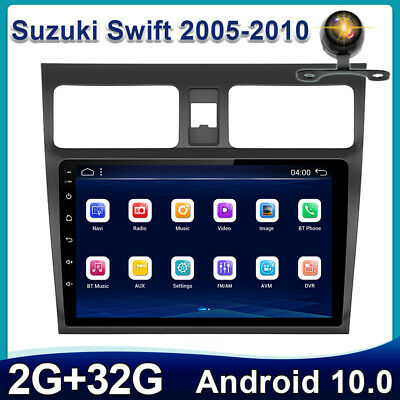 AU245.99 • Buy 10.1 Inch Head Unit For Suzuki Swift 05-10 Android 10.0 Car Stereo 2DIN GPS RDS