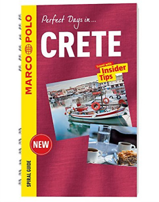 Crete Marco Polo Spiral Guide Book New • 9.37£