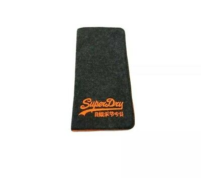 SUPERDRY Designer Spectacle Glasses Sunglasses Case - BRAND NEW, Slim Soft Pouch • 2.99£