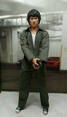 $119.90 • Buy 1/6 Police Story Jackie Chan FIGURE Head Sculpt Body Hot Toys Enterbay Phicen