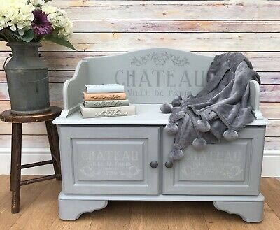 Painted Bench Seat With Storage (Delivery Available) • 150£