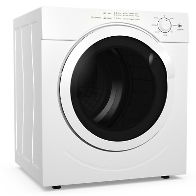 View Details 27 Lbs Electric Tumble Compact Laundry Clothes Dryer Stainless Steel 3.21 Cu.Ft • 350.99$