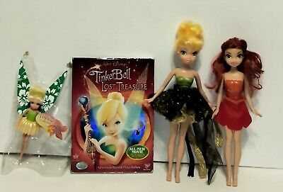 £4.96 • Buy Tinkerbell And The Lost Treasure DVD & 5  Tall Tropical Collections Figure LOT