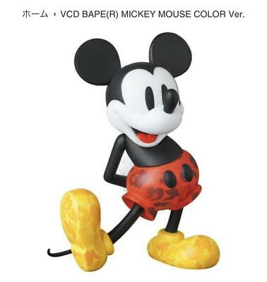 $195.90 • Buy BEARBRICK X MICKEY MOUSE A BATHING APE × VCD Vinyl Dolls Color Ver. From Japan