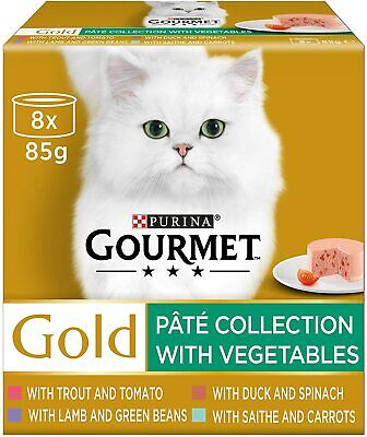 Gourmet Gold Pate With Vegetables 8 X 85g • 9.99£