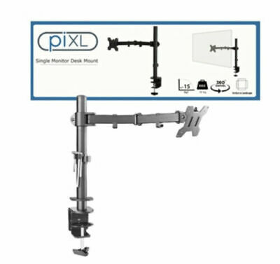 £13 • Buy Single Arm Desk Mount LCD Computer Monitor Bracket Clamp Stand 13 -27  Screen TV