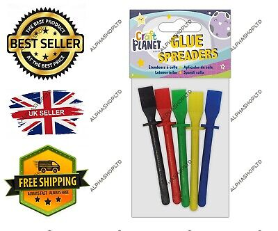 Craft Planet CPT 263102 Glue Spreaders Multi FAST&FREE UK Stock • 2.99£