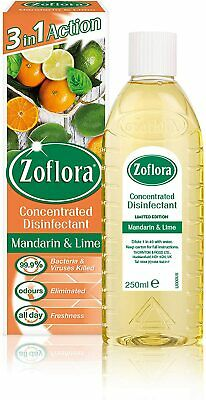 Zoflora Multi-Purpose Concentrated Antibacterial Disinfectant,mandarin+Lime • 3.10£