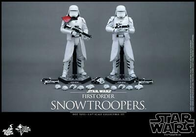 $ CDN502.80 • Buy Hot Toys 1/6 Star Wars The Force Awakens First Order Snowtroopers Set MMS 323
