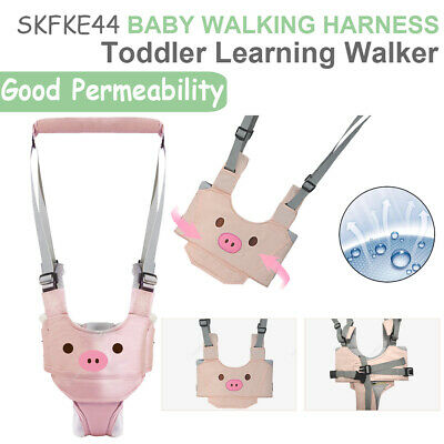 Baby Toddler Walking Harness Aid Assistant Rein Learn Walk Safety Equipment • 9.99£