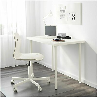 IKEA Linnmon Computer Desk Simple Design PC Laptop Table Home 100x60cm White • 37.99£