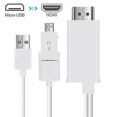 $ CDN11.35 • Buy MHL Micro USB To HDMI 1080P HD TV Cable Adapter For Samsung Android Cell Phones