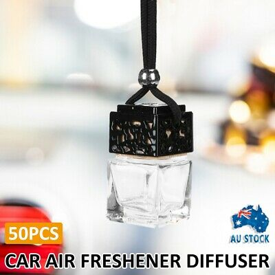 AU47.99 • Buy 50PCS Car Hanging Diffuser Air Freshener Perfume Empty Bottle DIY Container AU