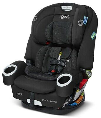 £228.04 • Buy Graco Baby 4Ever DLX SnugLock 4-in-1 Harness Booster Car Seat ChildSafety Tomlin