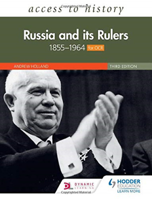 Holland, Andrew-Access To History: Russia And Its Rulers 1855-1964 For  BOOK NEU • 27.82£