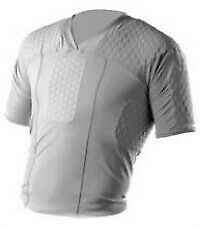 New Other McDavid Hexpad 7720 Lacrosse Body Shirt Adult Large Gray • 27.95£