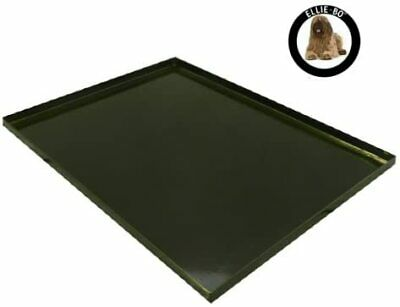 AU55.71 • Buy Replacement Black Metal Tray For 30 Inch Medium Dog Cage Crate - 83 X54 X3 Cm