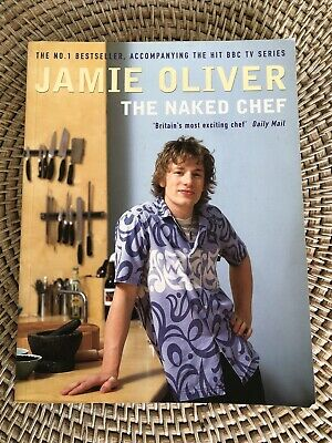 AU16 • Buy The Naked Chef By Jamie Oliver Recipe Book Cookbook Food