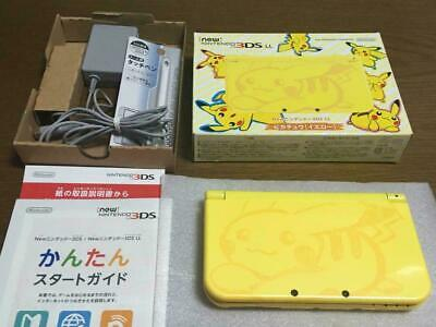 $229 • Buy Nintendo 3DS LL XL Console Pikachu Yellow Pokemon Japan Limited Model From Japan