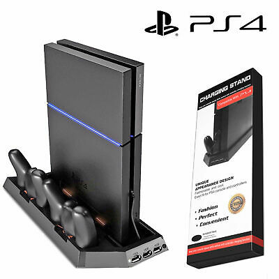 AU26.99 • Buy PS4 Cooling Station Vertical Stand With 2 Controller Charging Dock PlayStation 4