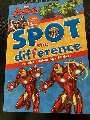 £3.89 • Buy Marvel Avenger Spot The Difference Activity Book