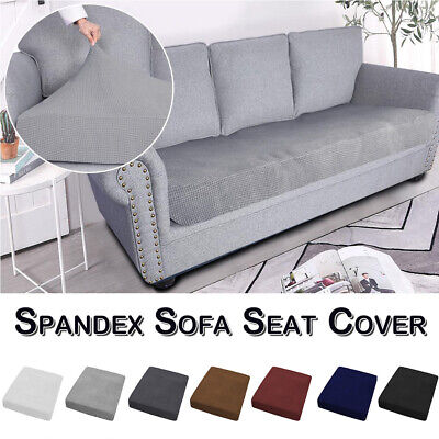 1/2/3/4Seater Elastic Sofa Cushion Cover Slipcover Settee Couch Seat Protector • 9.99£
