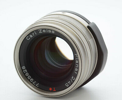 $ CDN569.57 • Buy 【TOP MINT】 Contax 45mm F/2 Carl Zeiss Planar T* Lens For G1 G2 From JAPAN #043