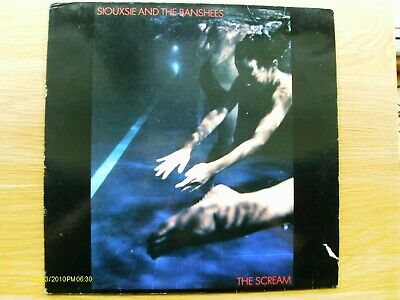 Siouxsie And The Banshees – The Scream Vinyl LP (1978) • 10£