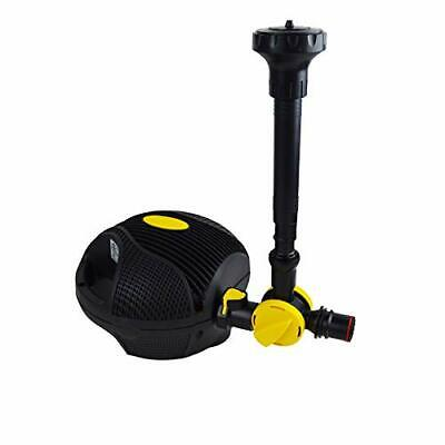 Power Jet Free Flo Fountain And Waterfall Pump For Garden Pond Pump • 109.99£