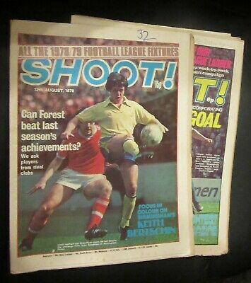 £4.99 • Buy Shoot!  Magazine Various Issues 1978