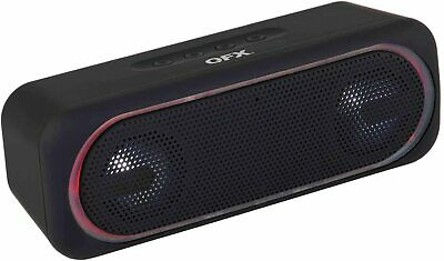 $ CDN35.44 • Buy QFX BT-153 Portable/Rechargeable Speaker +Bluetooth +USB/SD/FM/LED +Hands-Free