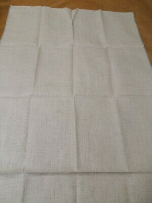 Quality Unbleached Linen Embroidery Fabric • 20£