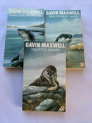 £9.95 • Buy The Rocks Remain + 2 Others By Gavin Maxwell 1975 - Paperbacks - Penguin Books