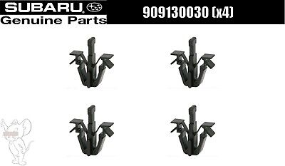 $31 • Buy Subaru Impreza WRX STi 2002-2005 Front Grille Clips 909130030 4Qty Set OEM Japan