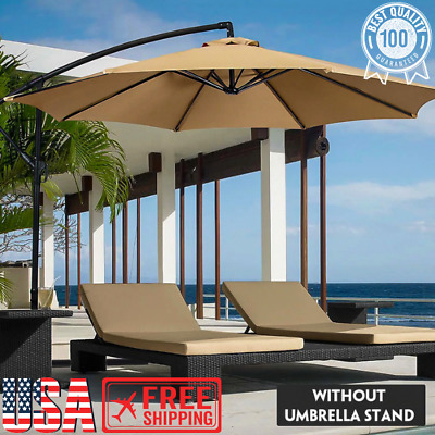 Umbrella Canopy Cover Waterproof UV Resistant Sunshade Outdoor Beach Garden Tent • 28.37£
