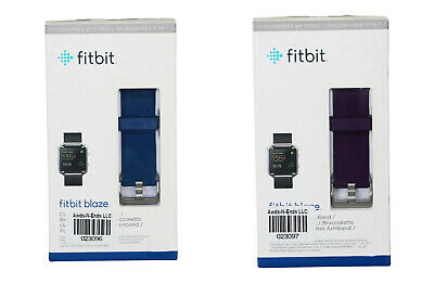 $ CDN18.82 • Buy Fitbit Blaze Classic Accessory Water Resistant Band W/Stainless Steel Clasp NIB