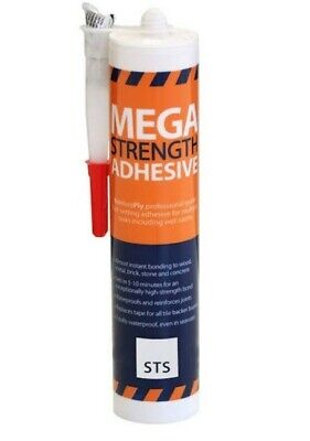 £7 • Buy No More Ply Mega Strength Adhesive High Grab For Cement Boards Pu Polyurethane
