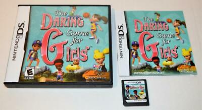 The Daring Game For Girls Nintendo Ds Game 3ds 2ds Complete W/ Manual Case • 5.01£