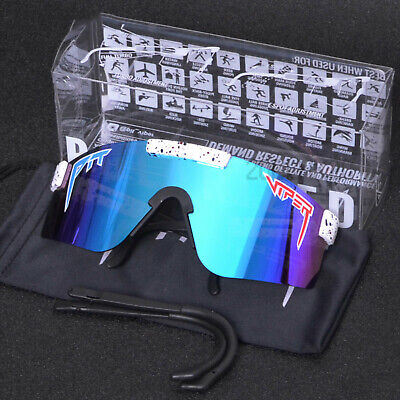 AU32.99 • Buy Original PIT VIPER Polarized Sunglasses Sport Goggles For Men/Women Outoor UV400