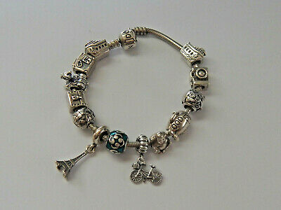 AU22 • Buy Choice Of GENUINE PANDORA Sterling Silver HOLIDAY & TRAVEL Charms