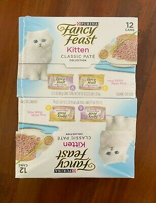 Purina Fancy Feast Cat Food, Classic Pate, Variety Pack - Chicken & Salmon, 24Ct • 11.37£