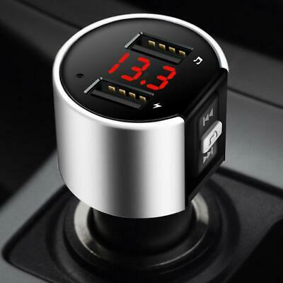£6.18 • Buy Wireless Bluetooth Car FM Transmitter MP3 Player USB Charger Handsfree Kit