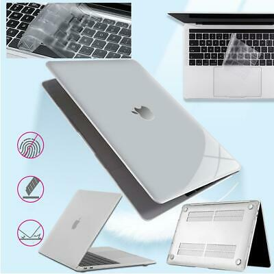 £8.99 • Buy Clear Shell Case Cover+Keyboard Skin For Apple Macbook Air 11/13/Pro 13  15 /12'